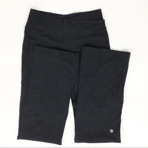Vintage Black Lululemon Leggings Flared  Size 6